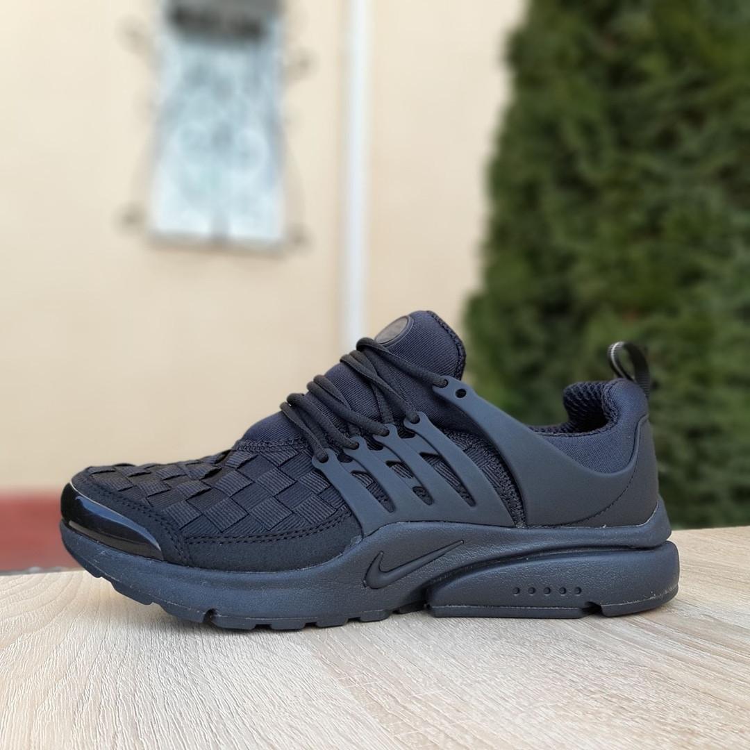 Кроссовки мужские Nike Air Presto черные клетка