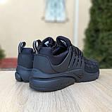 Кроссовки мужские Nike Air Presto черные клетка, фото 3
