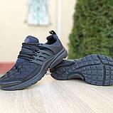 Кроссовки мужские Nike Air Presto черные клетка, фото 5