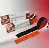 Артикуляционная бумага 80 мк, подковообразная, красно-голубая, 12 х 12 л, (ALFRED BECHT, Германия)