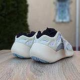 Кроссовки женские AdIdas Yeezy 700 V3 бежевые с серым, фото 4