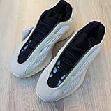 Кроссовки женские AdIdas Yeezy 700 V3 бежевые с серым, фото 7