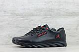 Мужские кожаные кроссовки Jordan ; (Код: K 9  ) ►Размеры [40,41,42,43,44,45], фото 2