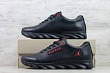 Мужские кожаные кроссовки Jordan ; (Код: K 9  ) ►Размеры [40,41,42,43,44,45], фото 4