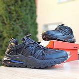Мужские  кроссовки Nike Air Max 270 Bowfin чёрные, фото 2