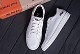 Мужские кожаные кеды  FILA Soft White Leather, фото 10