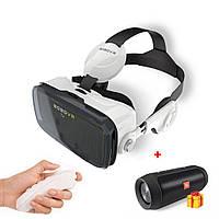 Очки виртуальной реальности VR BOX Z4 с наушниками  и пультом + колонка JBL в Подарок!