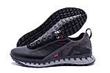 Мужские кожаные кроссовки FILA Tech Flex Black, фото 5