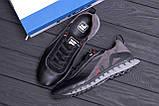 Мужские кожаные кроссовки FILA Tech Flex Black, фото 10