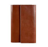 Кожаный блокнот софт-бук 5.1 (светло-коричневый)