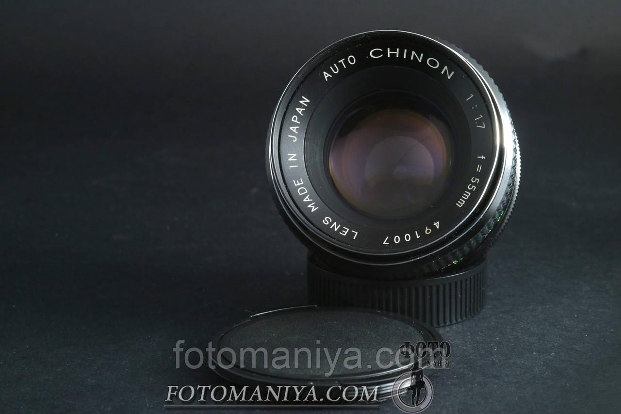 Chinon auto 55mm f1.7  M42