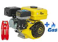 Бензо-газовый двигатель Кентавр ДВЗ-200БЗР LPG