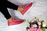 Женские кроссовки кожаные весна/осень красные Onward 212, фото 5