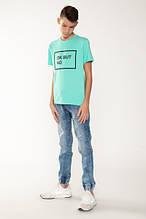 Демисезонные детские джинсы для мальчика Young Reporter Польша 201-0110B-12-000-1-D Голубой