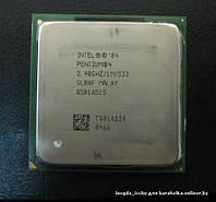 Процессор Intel Pentium 4 2.40 GHz, 1M Cache, 533 MHz FSB, s478