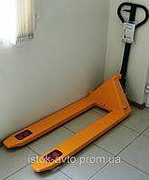 Гидравлическая тележка (рокла, рохля) Skiper DB2000 короткая