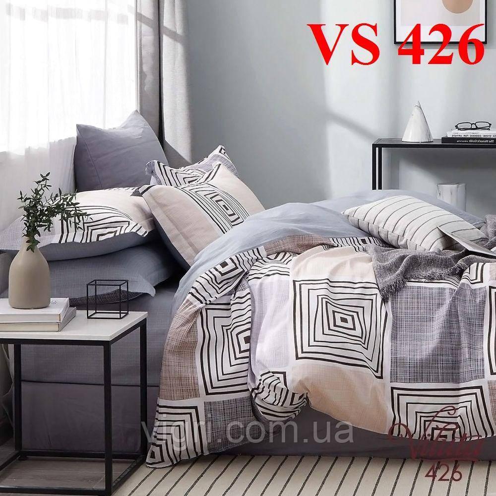 Постельное белье двуспальное, сатин, Вилюта «Viluta» VS 426