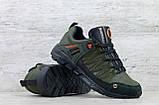 Мужские кожаные кроссовки Merrell ; (Код: М-4 хаки  ) ►Размеры [40,41,42,43,44,45], фото 3