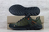 Мужские кожаные кроссовки Merrell ; (Код: М-4 хаки  ) ►Размеры [40,41,42,43,44,45], фото 4