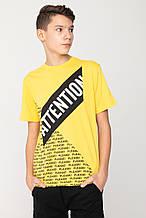 Дитяча футболка для хлопчика Young Reporter Польща 201-0440B-24-300-1-D Чорний