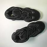 Кроссовки Adidas Yeezy Boost 500 Full Black, фото 2