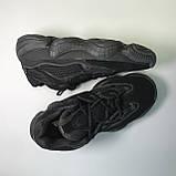 Кроссовки Adidas Yeezy Boost 500 Full Black, фото 3