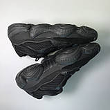 Кроссовки Adidas Yeezy Boost 500 Full Black, фото 5