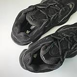 Кроссовки Adidas Yeezy Boost 500 Full Black, фото 6