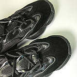 Кроссовки Adidas Yeezy Boost 500 Full Black, фото 7