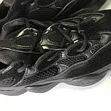 Кроссовки Adidas Yeezy Boost 500 Full Black, фото 8