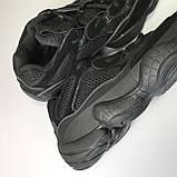 Кроссовки Adidas Yeezy Boost 500 Full Black, фото 9