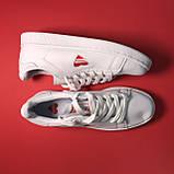 Кроссовки Adidas Stan Smith White Red Heart, фото 3