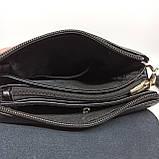 Шкіряна чоловіча сумка через плече / Мужская кожаная сумка через плечо Langsa, фото 7
