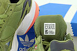 Кроссовки женские Adidas Fa|con цвета хаки, фото 5