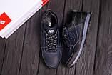 Мужские кожаные кроссовки New Balance Clasic Blue, фото 10
