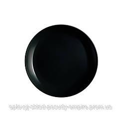 Тарелка десертная 19см Luminarc Diwali Black P0789