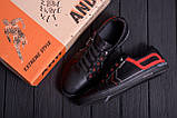 Мужские кожаные кеды  T.Hilfiger Aircross Black ;, фото 10