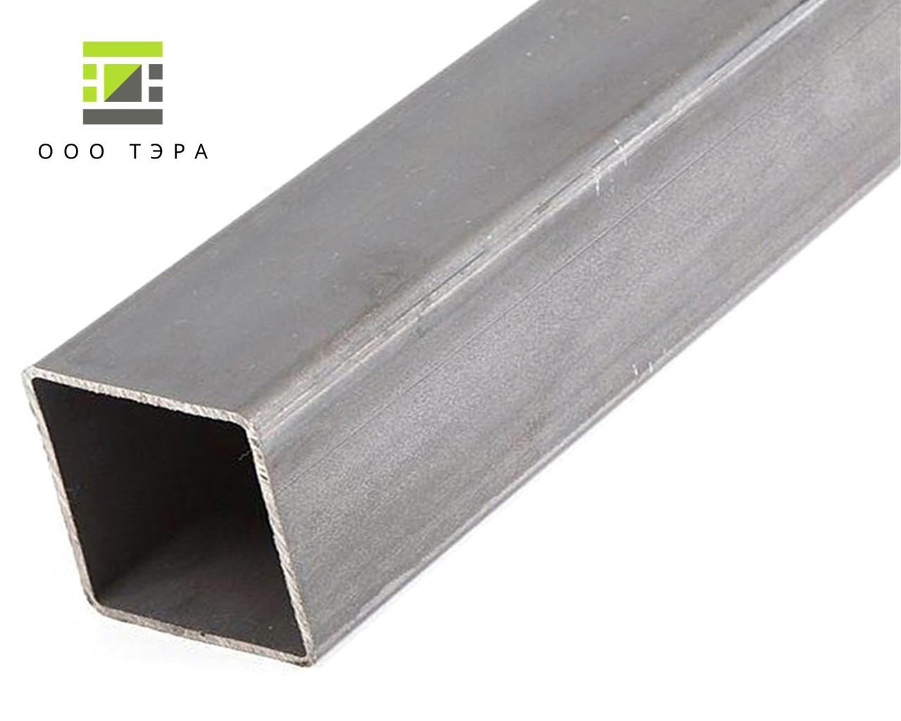 Профиль квадратный труба 40 х 40 х 2 мм стальная ГОСТ 8639-82