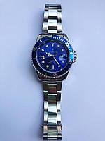 Мужские наручные часы Rolex Submariner blue