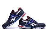 Мужские кожаные кроссовки Reebok Street Style Blue ;, фото 4