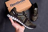 Мужские кожаные кроссовки  Reebok SPRINT TR  Olive ;, фото 9