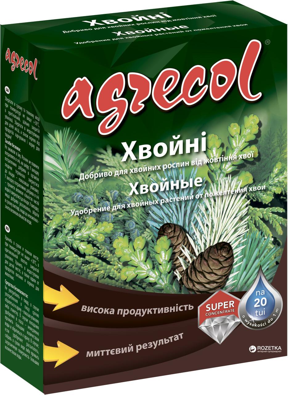 Удобрение Agrecol для хвойных от пожелтения 250 г,