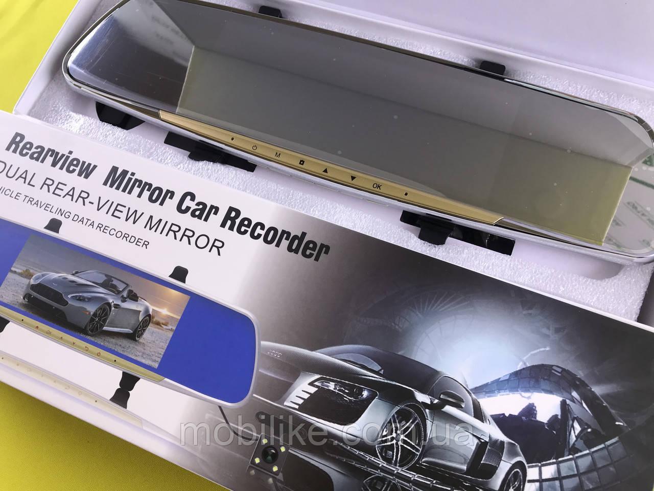 Качественный  видеорегистратор зеркало DVR V10
