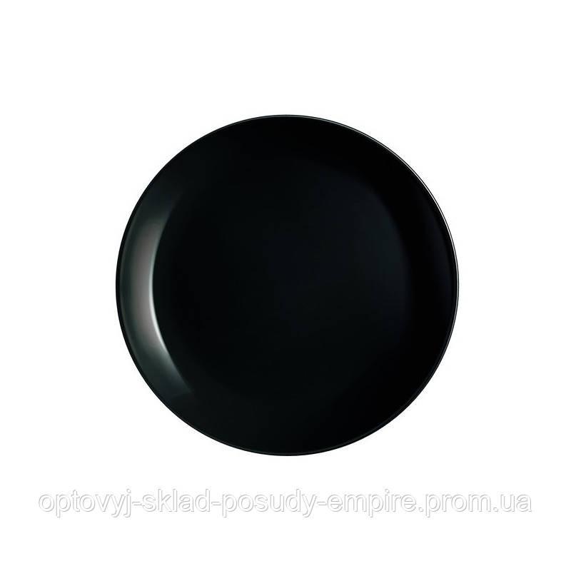 Тарілка супова 20см Luminarc Diwali Black P0787