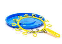Ракетка с фигурками для мыльных пузырей (без тарелки) | Мыльные пузыри для детей