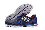 Мужские кожаные кроссовки Reebok Tech Flex Blue ;, фото 5