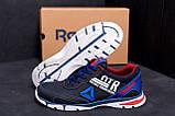 Мужские кожаные кроссовки Reebok Tech Flex Blue ;, фото 7
