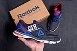 Мужские кожаные кроссовки Reebok Tech Flex Blue ;, фото 8