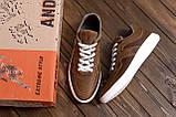 Мужские кожаные кроссовки YAVGOR Coffe ;, фото 10
