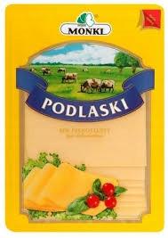 Сыр в пластинках Podlaski без консервантов 150г Польша